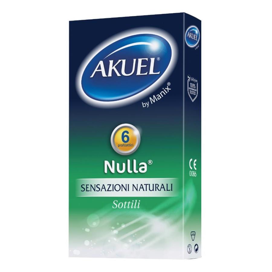 Akuel By Manix Nulla Profilattico Sensazione Naturale 6 Pezzi