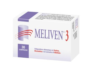 Natural Bradel Meliven 3 Integratore Alimentare 30 Compresse