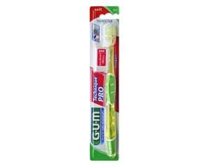 GUM  Igiene Dentale Quotidiana Technique Pro 525 Spazzolino Morbido Compatt