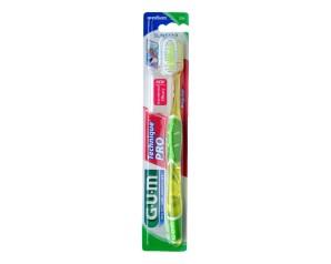 GUM Technique Pro 526 Spazzolino Medio Regular Igiene Dentale Quotidiana