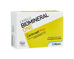 Biomineral  Hair Terapy One con Lactopil Plus Capelli Deboli 30 Compresse