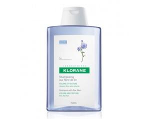 Klorane Shampoo alle Fibre di Lino 400 ml