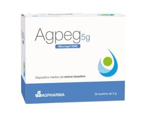 Agpeg Macrogol 3350 30 Bustine 5 g