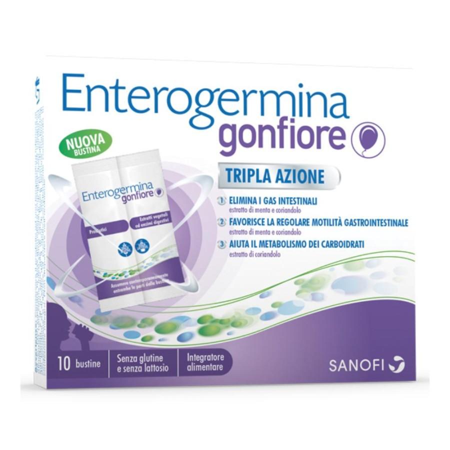 Sanofi Aventis Enterogermina Gonfiore Integratore 10 Bustine