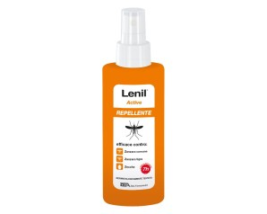 Lenil Active Spray Soluzione Antizanzara In Flacone + Pompa Spray 100 Ml