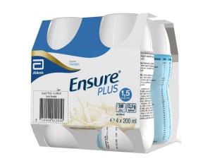 Abbott Ensure Plus Vaniglia 4 Bottiglie Da 200 Ml