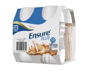 Abbott Ensure Plus Cioccolato 4 Bottiglie Da 200 Ml