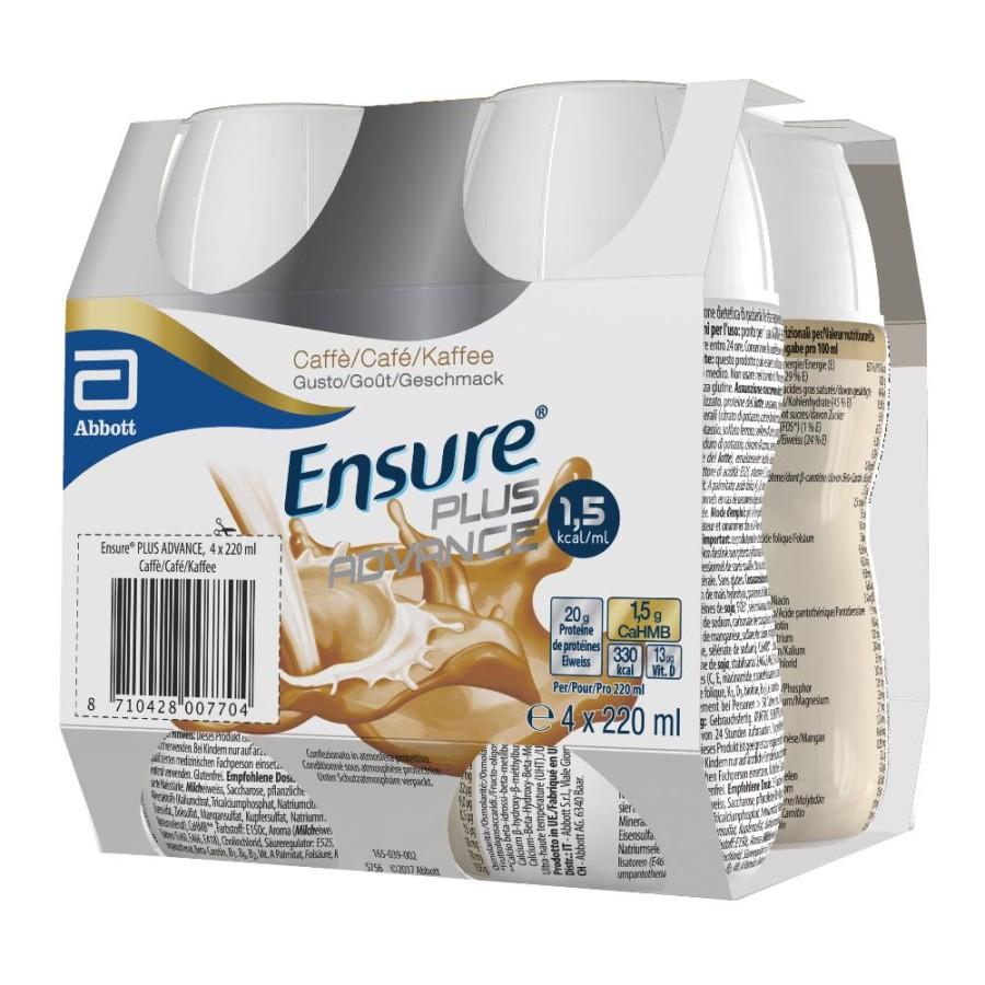 Ensure Plus Advance Caffè 4 x 220 ml