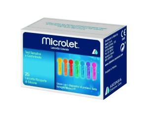 Bayer Lancette Pungidito Per Dispositivo Microlet 25 Pezzi
