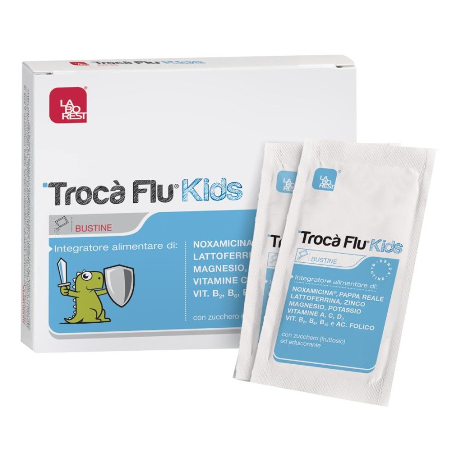 Laborest Trocà Flu Kids Integratore Alimentare 10 Bustine