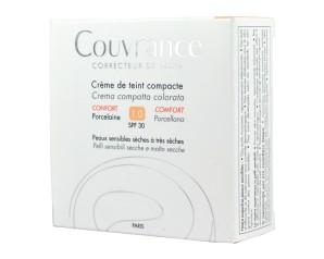 Eau Thermale Avene Couvrance Crema Compatta Colorata Nf Comfort Porcellana 9,5 G