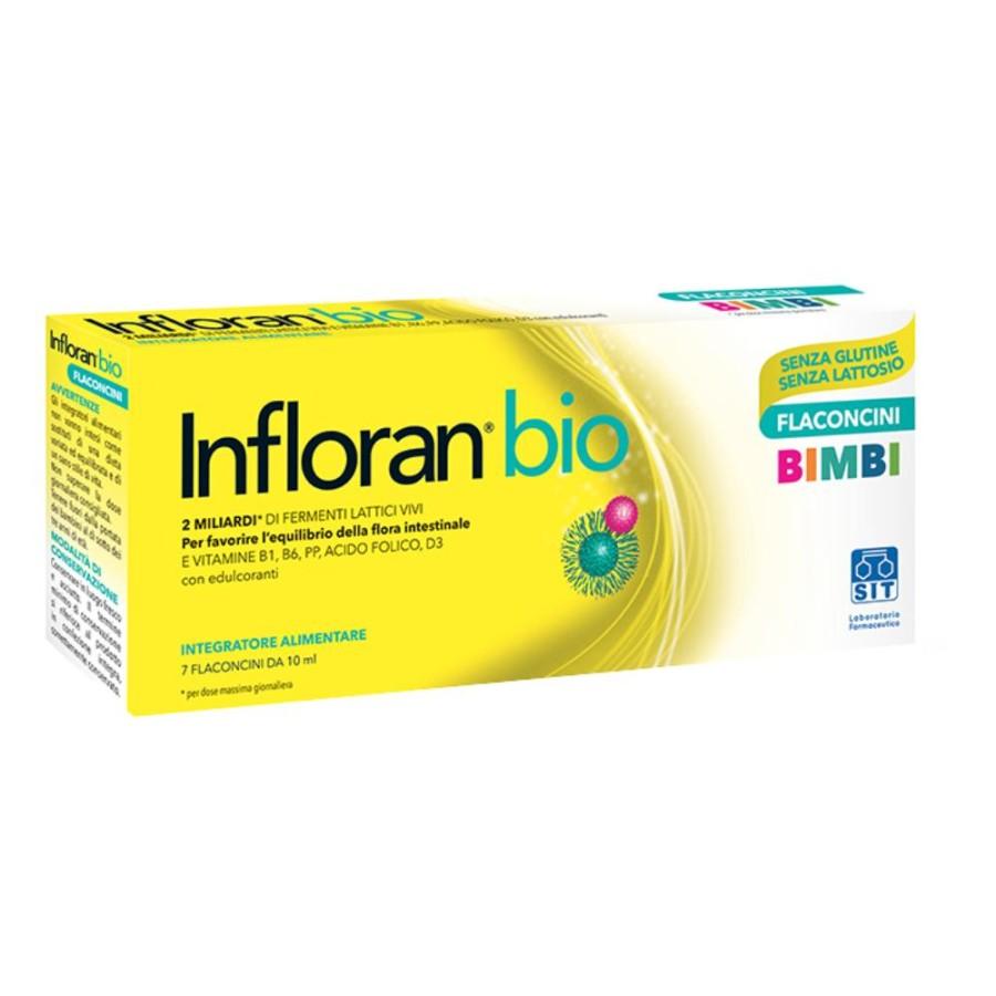 Sit Lab Infloran Bio Bimbi 7 Flaconcini