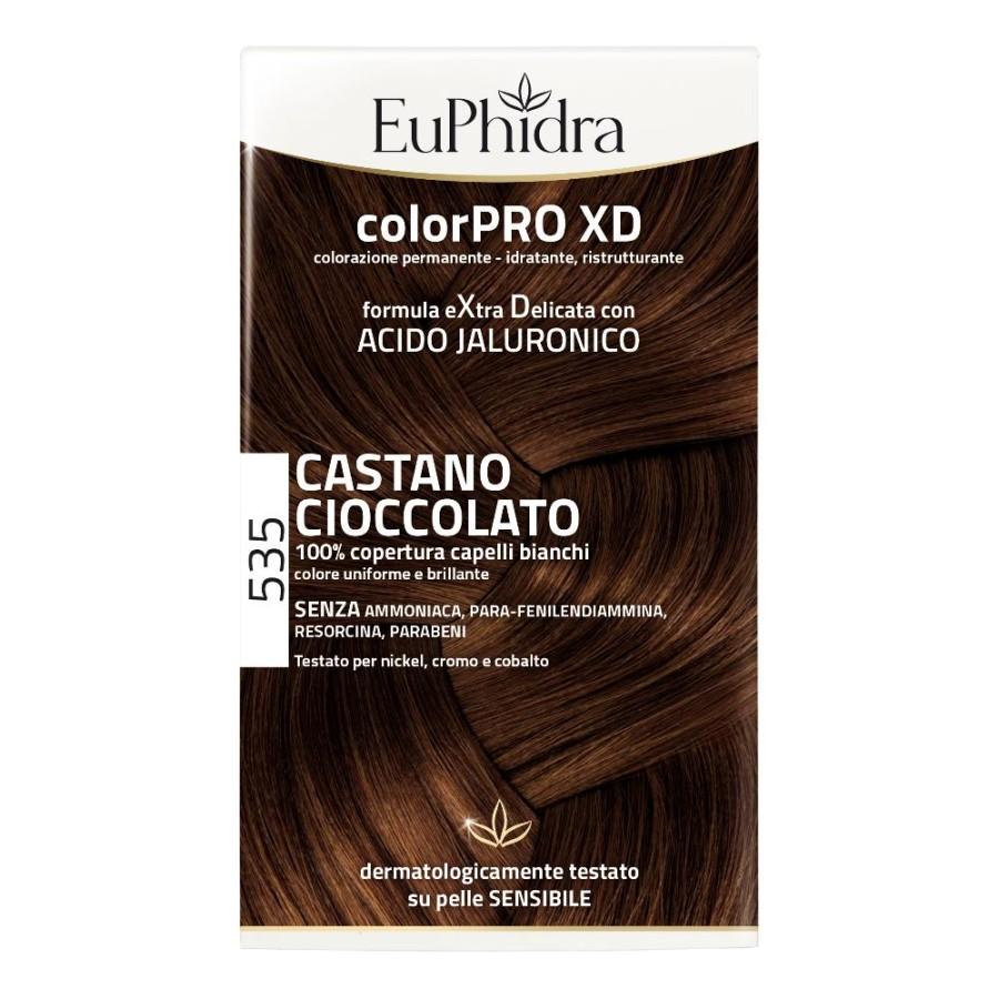 EuPhidra ColorPRO XD Colorazione Extra-Delixata 535 Castano Cioccolato