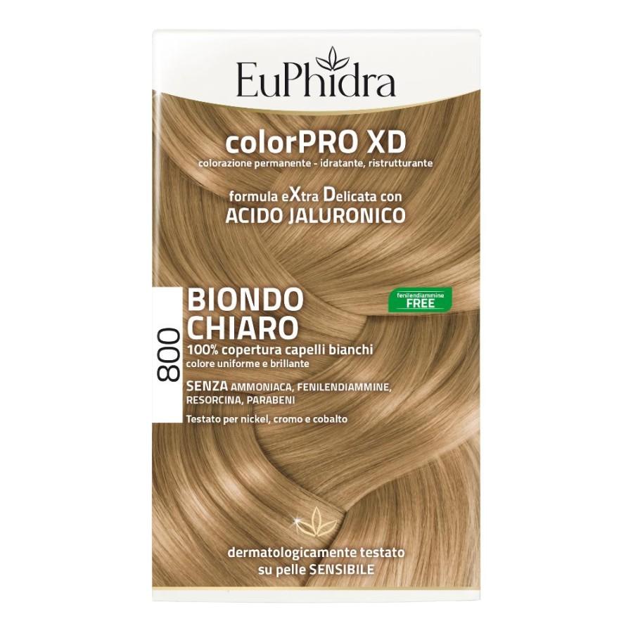 EuPhidra  ColorPRO XD Colorazione Extra-Delixata 800 Biondo Chiaro