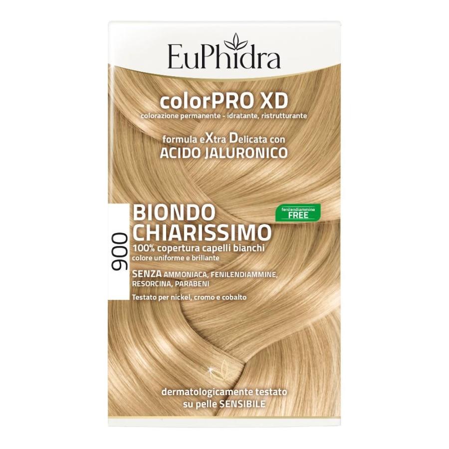 EuPhidra  ColorPRO XD Colorazione Extra-Delixata 900 Biondo Chiarissimo