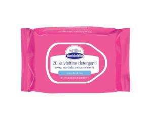 EuPhidra Amido Mio 20 Salviette Detergenti Delicate per Pelli Sensibili
