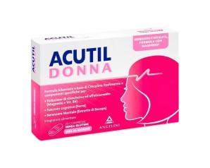Angelini Acutil Donna Integratore Alimentare 20 Compresse