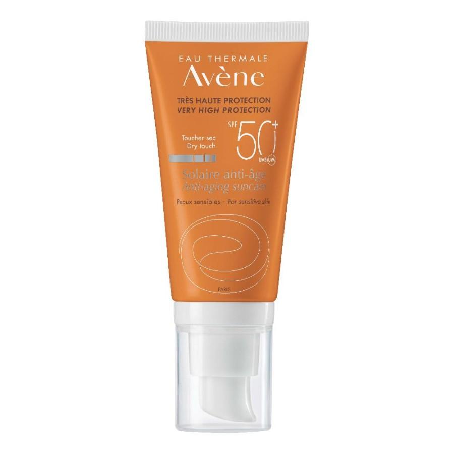 Avene Solare Crema Anti-Age SPF50+ Trattamento Anti-Età 50 ml