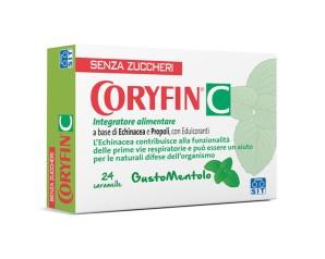 Sit Lab Coryfin C Mentolo 24 Caramelle 48 g Senza Zucchero