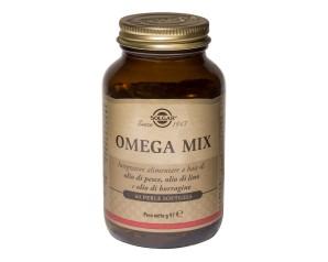 Solgar  Colesterolo Trigliceridi Omega Mix Integratore Alimentare 60 Perle