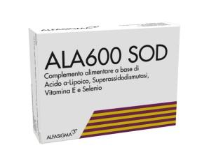 Alfasigma AlaSod 600 Integratore Alimentare Antiossidante 20 compresse