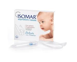 Isomar  Pulizia e Salute del Naso Aspiratore Nasale Bambini con 3 Ricambi