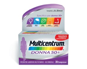 Multicentrum Donna 50+ Integratore Alimentare 30 Compresse