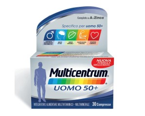 Multicentrum Uomo 50+ Integratore Alimentare 30 Compresse