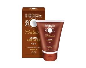 Dermasol  Protezione Solare Crema Viso Anti-Età Protezione Media 50 ml