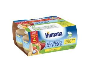 OMO HUMANA Frutta Bio 4x100g