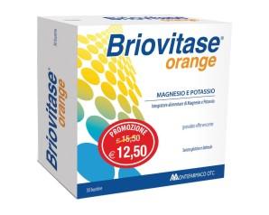 Montefarmaco Briovitase Orange Integratore Magnesio Potassio 30 Buste