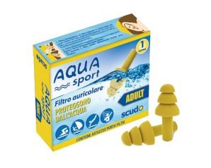 Filtro Auricolare Per Adulto Earplug Scudo Aquasport 2 Pezzi