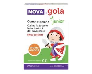 NOVA GOLA JUNIOR ARANCIA 20CPR
