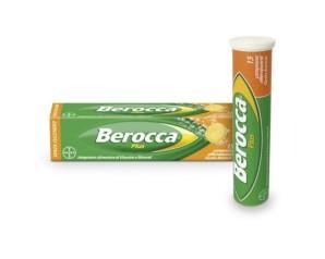 Bayer Berocca Plus Integratore Vitamine e Minerali 15 Compresse Effervescenti