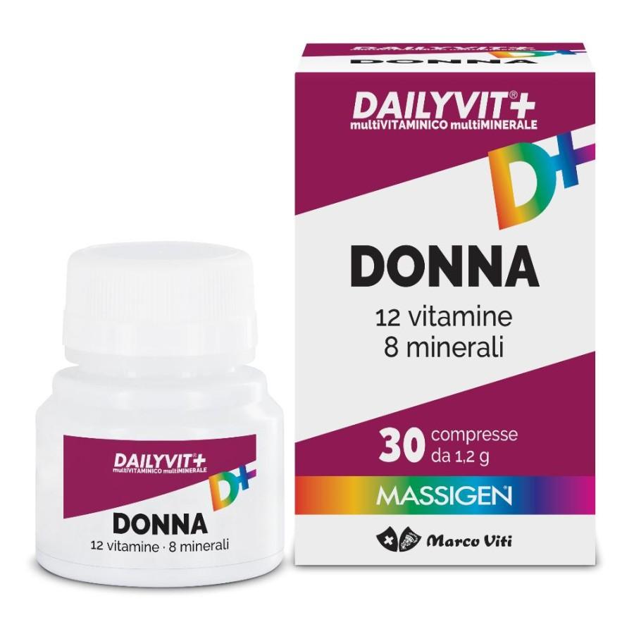 Dailyvit+ Donna Multivitaminico E Multiminerale 30 Compresse Rivestite