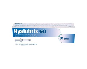 Siringa Intra-articolare Hyalubrix 60 Acido Ialuronico 1,5% 60 Mg 4 Ml