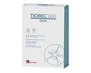 Laborest Italia Tiobec 800 Duo Compresse Orosolubili 18,9 G