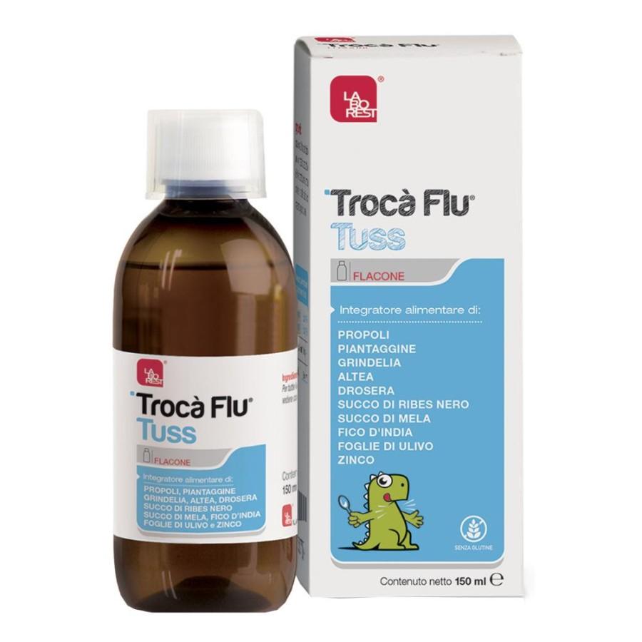 Laborest Trocà Flu Tuss Sciroppo Integratore Alimentare 150 ml
