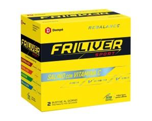 Friliver  Vitamine Minerali Sport Rebalance Integratore Alimentare 24 Buste