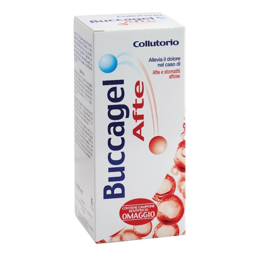 Buccagel Collutorio Lenitivo Calmante Cavo Orale 200 ml