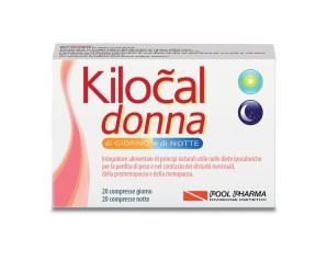 Kilocal  Controllo del Peso Donna Integratore Alimentare 20+20 Compresse
