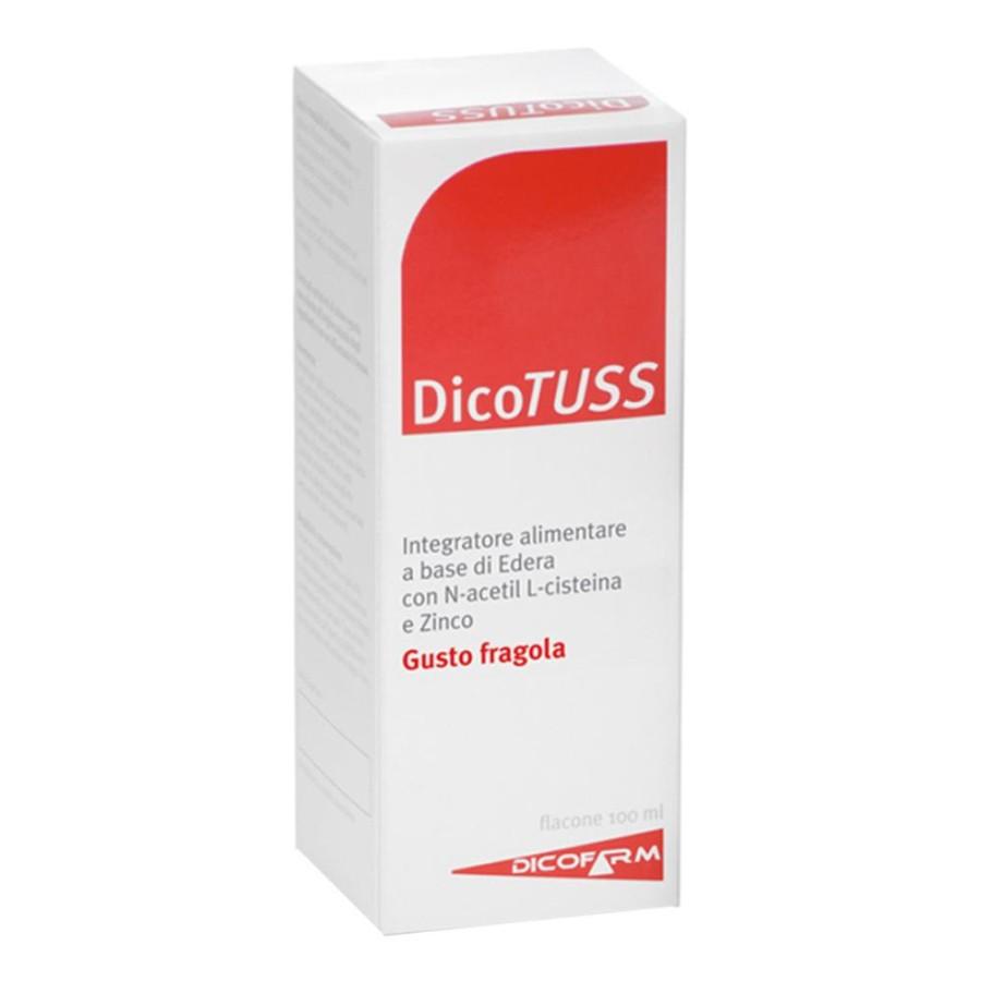 Dicofarm  Apparato Respiratorio Dicotuss Integratore Alimentare 100 ml