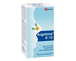 Bracco Argotone 0-12 Gocce Nasali Fluidificanti Decongestionanti Flacone 20 ml