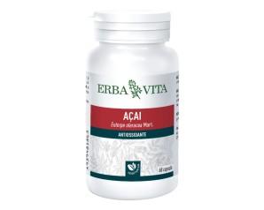 Erba Vita Acai-ev Antiossidante Tonificante Integratore 60 Capsule