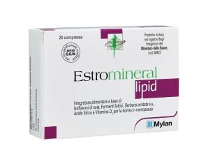 Estromineral Lipid  Benessere e Salute Integratore Alimentare 20 Compresse