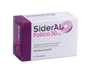 Pharmanutra Sideral Folico 30 Mg 20 Stick