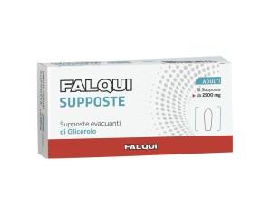 Falqui Prodotti Farmac. Supposte Falqui 18 Supposte Con Glicerina 2500mg Adulti