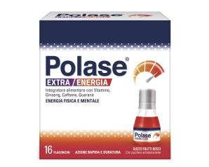 Polase  Vitamine e Minerali Polase Extra Energia Integratore 16 Flaconcini
