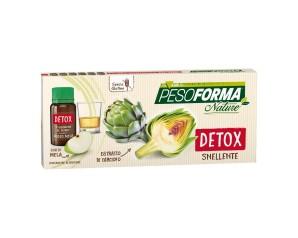 Nutrition & Sante' Italia Pesoforma Nature Detox Snellente 6 Flaconcini Da 10 M