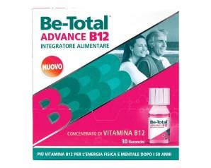Betotal  Vitamine e Minerali Be-Total Advance B12 Integratore 30 Flaconcini